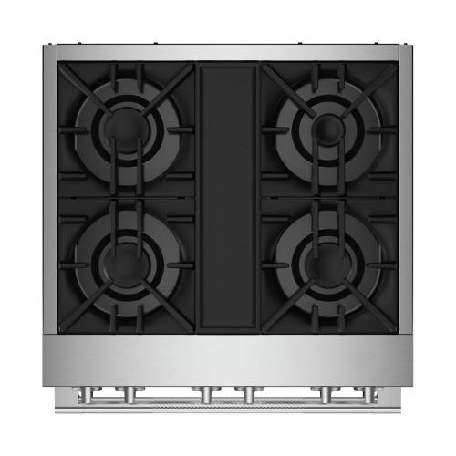 "30"" RISE™ Dual-Fuel Professional-Style Range"