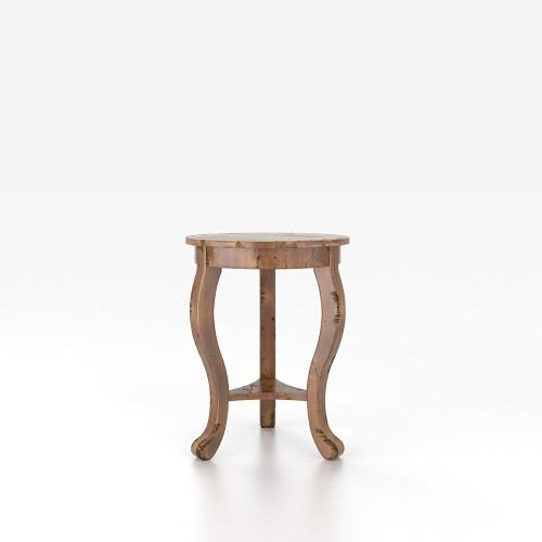 Gallery - Round end table