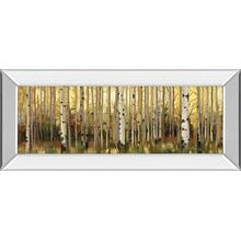 """""""Forest Light"""" By Alison Pearce Mirror Framed Print Wall Art"""