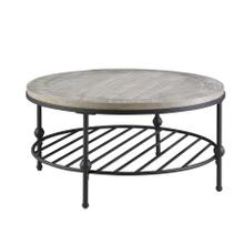 Emerald Home Cutter Round Cocktail Table T618-00