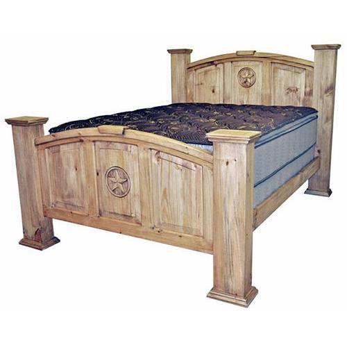 Full Mansion Bed W/star