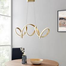Seville LED Chandelier // Gold