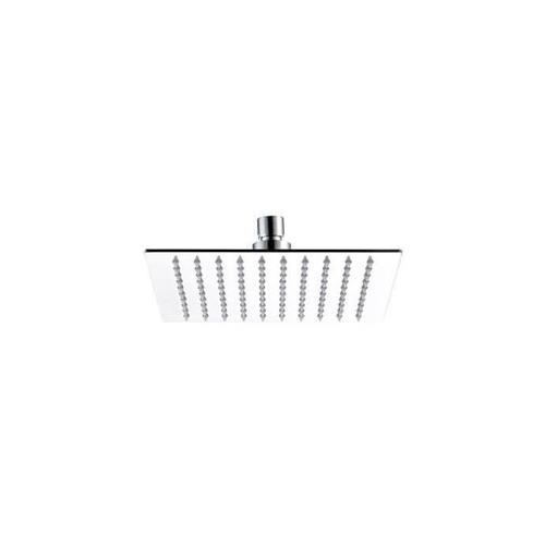 """Mountain Plumbing - 8"""" Square Rain Head with Air-Injected Ball Joint for Shower Head - Champagne Bronze"""