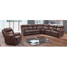"3 PC Sectional 122"" x 118"""