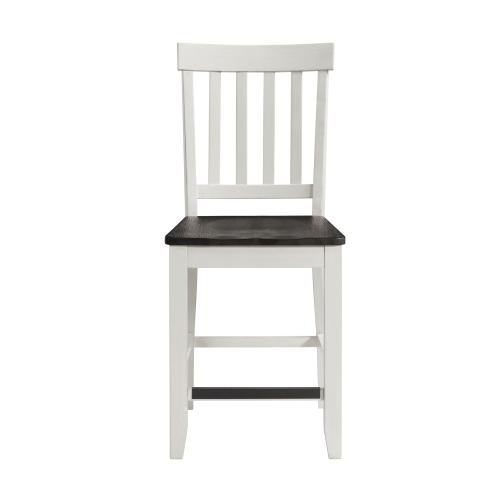Elements - Kayla Two Tone Counter Height Side Chair Set