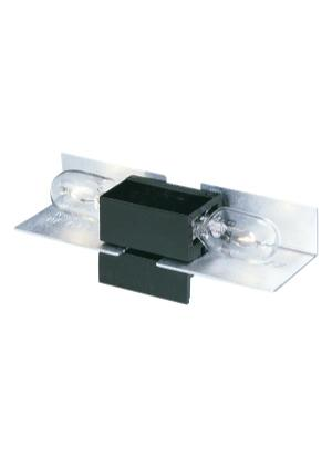 Lx Wedge Base Lampholder-12 Black Product Image