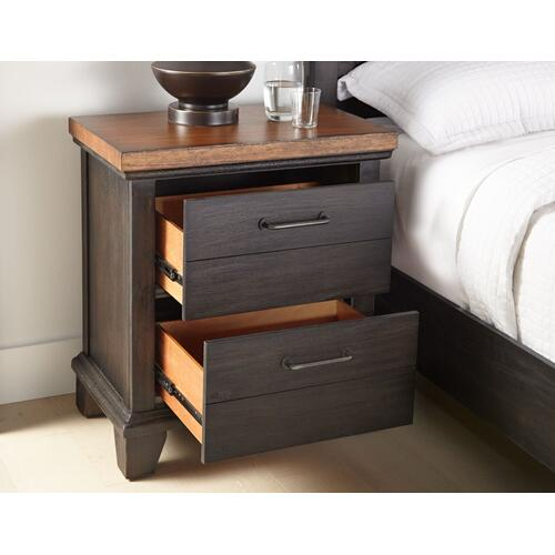 Bear Creek Dresser and Mirror, Brown