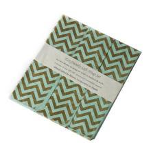 "20"" x 30"" x 3 sheets Mint Gift Wrap (Zig Zag Option)"
