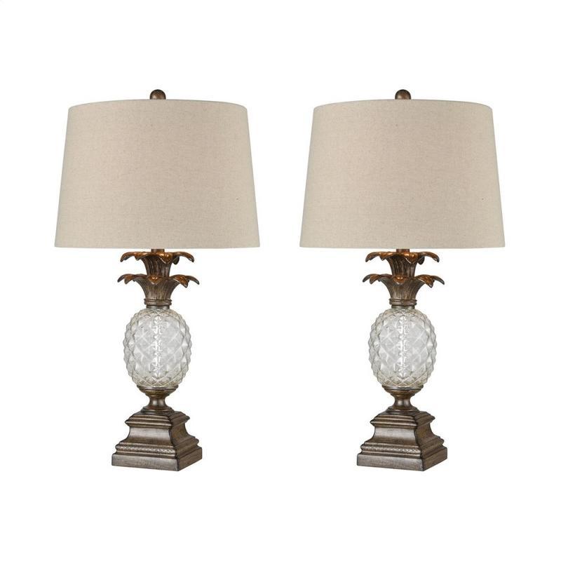 Mauna Loa Table Lamp (set of 2)