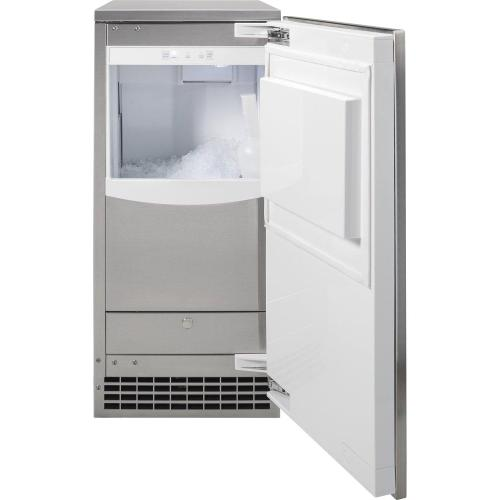 GE Profile - Ice Maker 15-Inch - Nugget Ice
