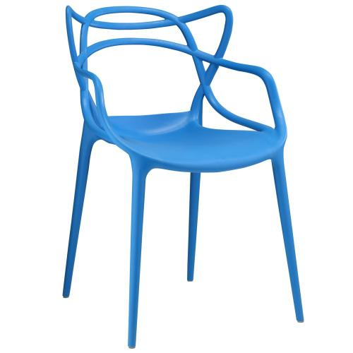 Modway - Entangled Dining Armchair in Blue