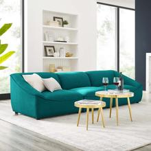 Comprise 3-Piece Sofa in Teal