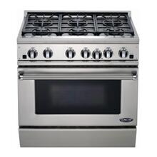 "36"" All Gas, 6 Burner"