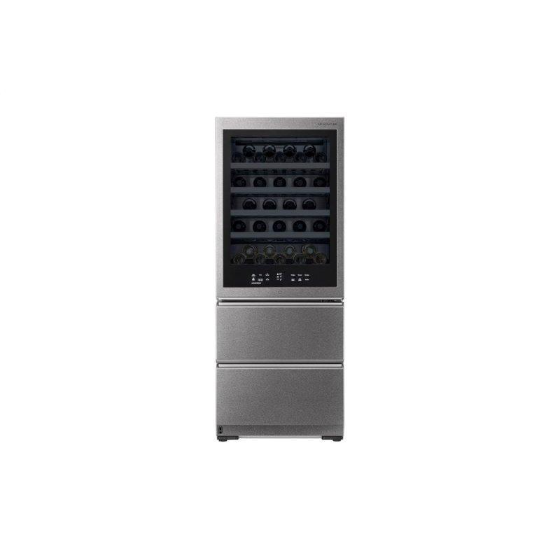 15 cu. ft. Smart wi-fi Enabled InstaView™ Wine Cellar Refrigerator