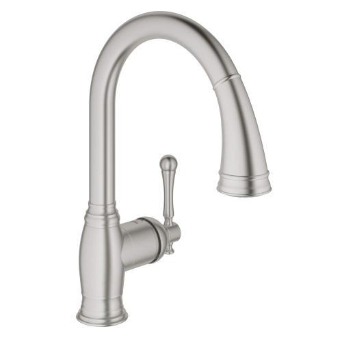 Bridgeford Single-handle Pull Down Kitchen Faucet Dual Spray 1.75 Gpm