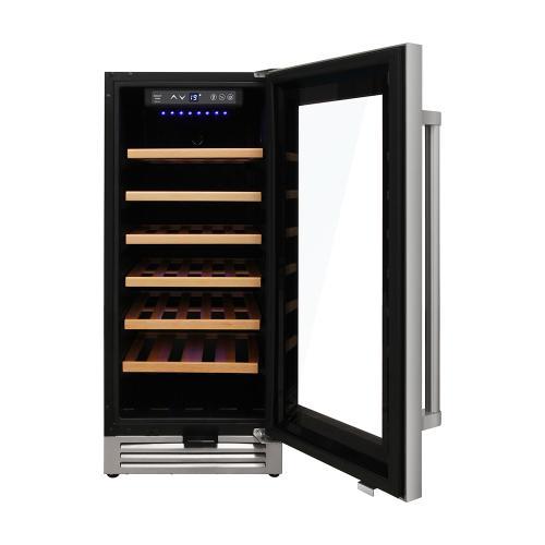 Thor Kitchen - 15 Inch Single Zone Wine Cooler, 33 Wine Bottle Capacity