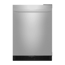 "NOIR 24"" Under Counter Solid Door Refrigerator, Right Swing"