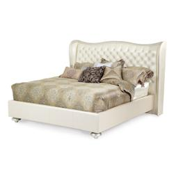 Eastern King Upholstered Bed (3 pc)