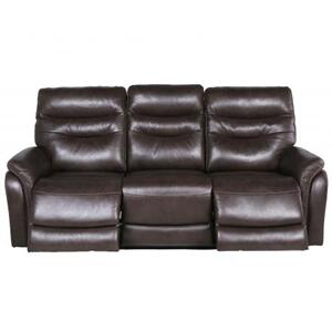 Fortuna Dual Power Recliner Sofa, Coffee