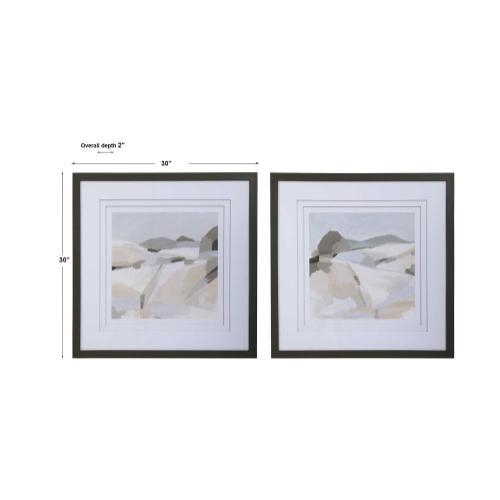 Uttermost - Western Landscape Framed Prints, S/2