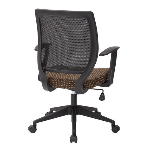 """Screen Back Task Chair With """"t"""" Arms"""