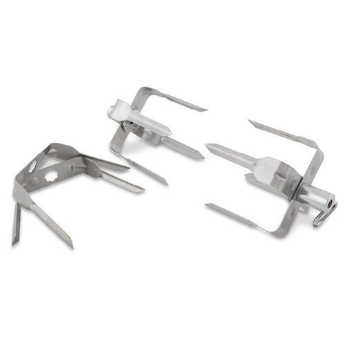 Stainless Steel Mega Rotisserie Forks