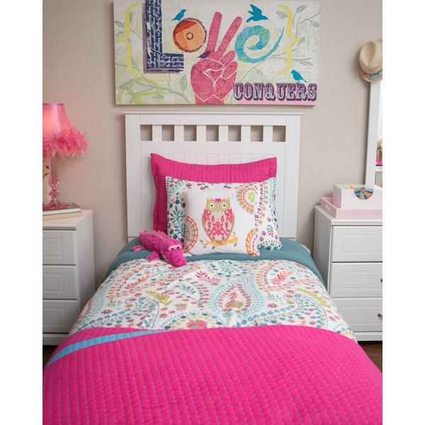 Lulu Twin Panel Bed