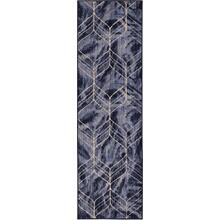 "Axiom Ebb Indigo 2' 4""x7' 10"" Runner"