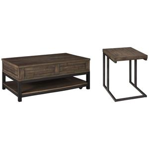 Coffee Table With 1 End Table