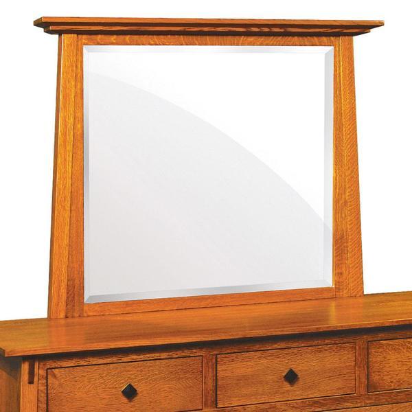 See Details - McCoy Dresser Mirror, 54 'w x 36 'h