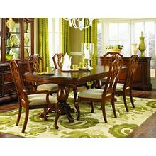 Evolution Pedestal Dining Room & Pierced Splat Back Chairs