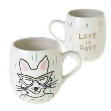"5""x 3.5""x 4.25"" E+E Peace + Love Collection (Eloise Mug Option)"