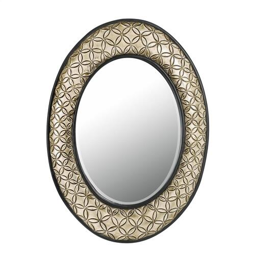 Sartene Oval Pu BeveLED Mirror