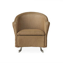 Reflections Spring Rocker with Padded Seat