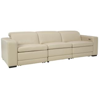 See Details - Texline 4-piece Power Reclining Sectional
