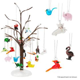 Mini Animal Ornaments Assortment (37 pc. assortment)