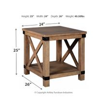 T4573  Rectangular End Table