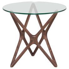 Star Side Table  Walnut