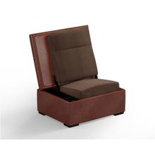 JumpSeat Ottoman, Whiskey Cover / Mocha Seat