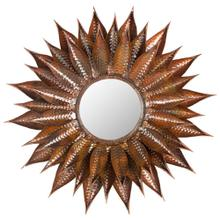 See Details - Sunflower Mirror - Burnt Copper W / Clear P / Coat