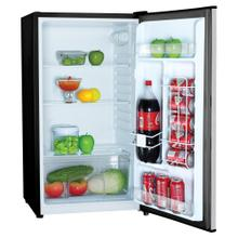 3.2 Cubic-Ft Compact Refrigerator (Silver)