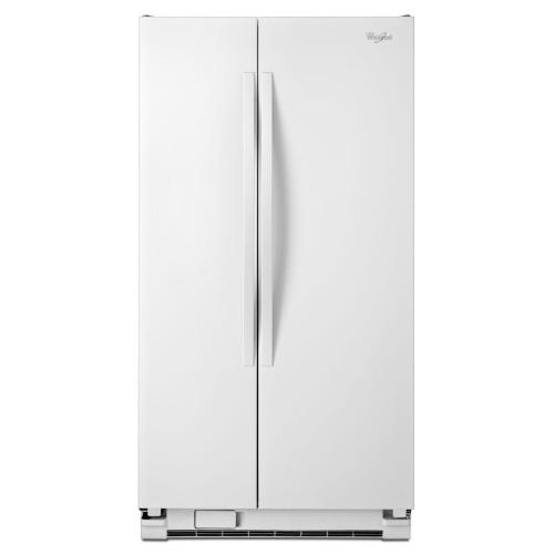 21 Cu. Ft. Side-by-side Refrigerator With LED Lighting