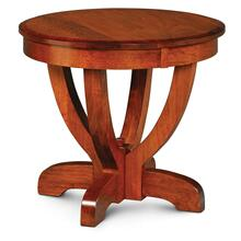 """View Product - Brookfield End Table, 30"""" Diameter x 30""""h"""