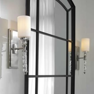 See Details - Campania, 1 Lt Wall Sconce
