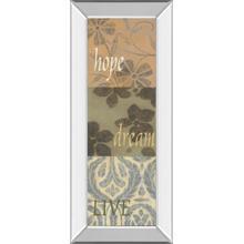 """Uplift I"" By Vision Studio Mirror Framed Print Wall Art"