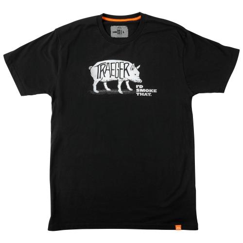 Traeger I'd Smoke That Pig T-Shirt - L