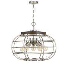 Liberty Metal Chandelier (Edison Bulbs Not included)