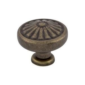 Top Knobs - Flower Knob 1 1/4 Inch German Bronze