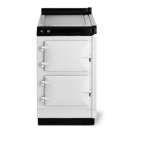 """Gallery - AGA Classic 20"""" Hotcupboard with Warming Plate, White"""