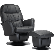 This glider from the AvantGlide collection features a gently rounded seatback and outward tapered armrests.